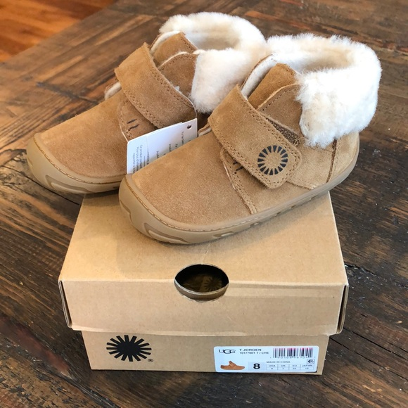 e4cbed7e4e9 Brand new Uggs T Jorgen booties- Toddler size 8 NWT